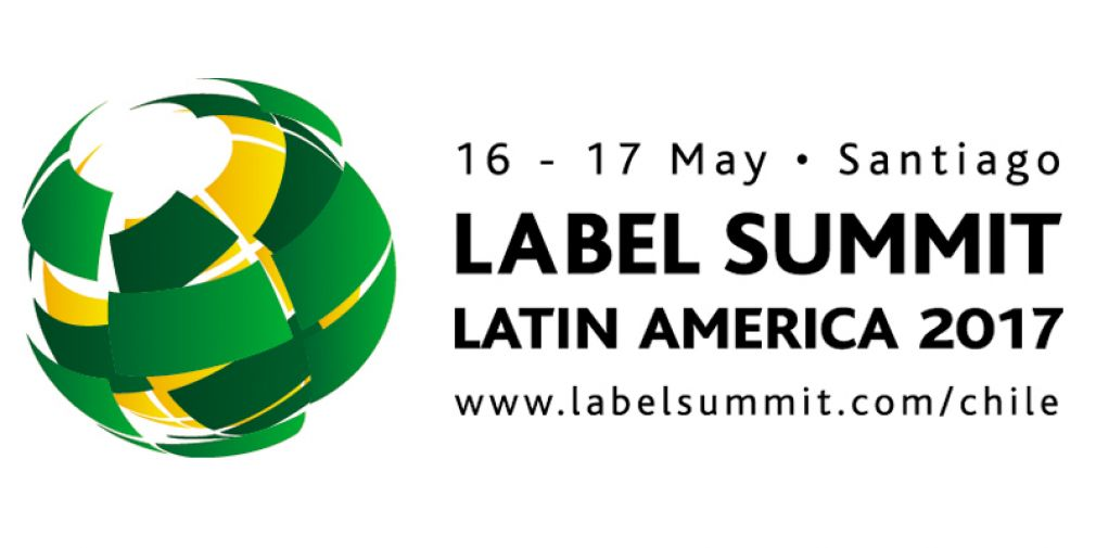 Logo de Label Summit 2017, realizada en Espacio Riesco